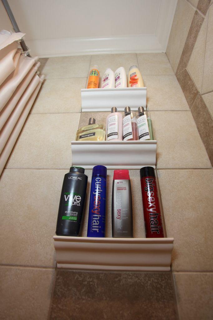 Bathroom Crown Molding Shelf   By Bathroom Remodeling Fairfax