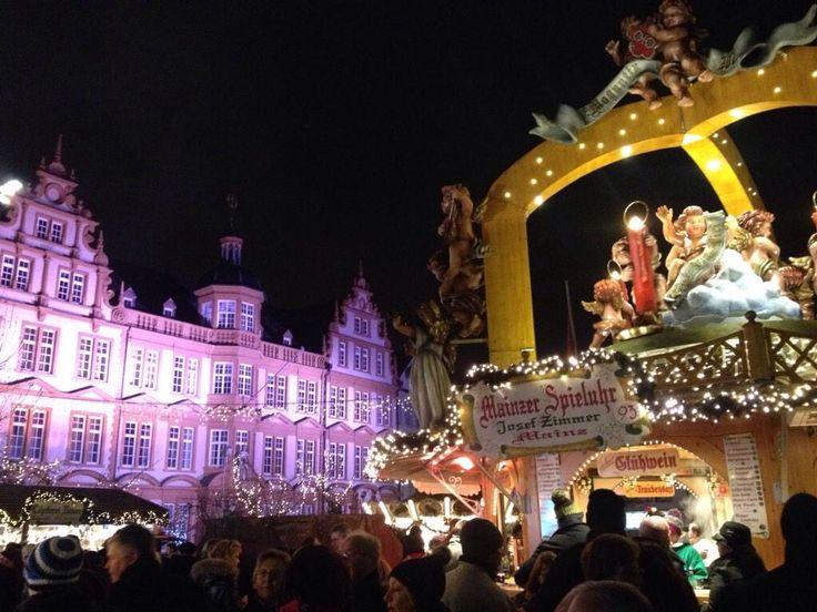 Weihnachtsmarkt Mainz 2014  Hotel Zum Römischen Kaiser XMAS Market Mainz 2014