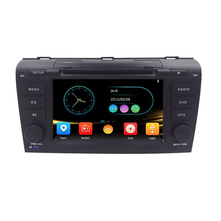 New Wince 6.0 Mazda3 Car DVD Player For Mazda 3 2004 2005 2006 2007 2008 2009 in GPS Navigation Map Radio Video audio RDS Ipod