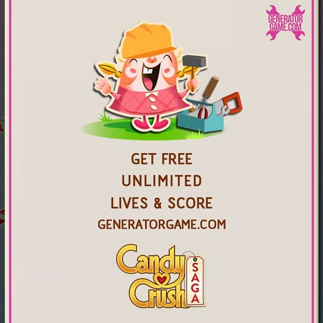 "[NEW] CANDY CRUSH SAGA ONLINE HACK WORKS 2015: www.candycrushsagagenerator.tk  Get Free unlimited Lives and Score to your account: www.candycrushsagagenerator.tk  Resources instantly added after generate it: www.candycrushsagagenerator.tk  Tell about this to your friends guys: www.candycrushsagagenerator.tk  HOW TO USE :  1. Go to >>> www.candycrushsagagenerator.tk  2. Enter Your Candy Crush Saga username (You don't need to enter your password)  3. Click ""Connect"" wait about 5sec for…"