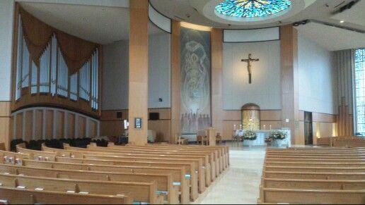 Pipe Organ, St. Monica Catholic Church, Dallas