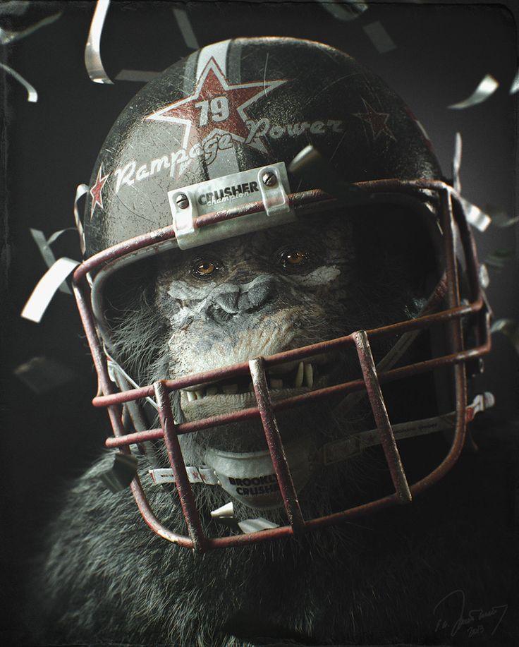 The champion. by Eugene Gittsigrat | Creatures | 3D | CGSociety