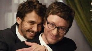 """James Franco and Akiva Schaffer in a still from the video for """"Spring Break Anthem"""", a brilliant satire with uses seemingly absurd juxtaposition to explode myths about virtue.  Follow the link attached to this image and read more."""