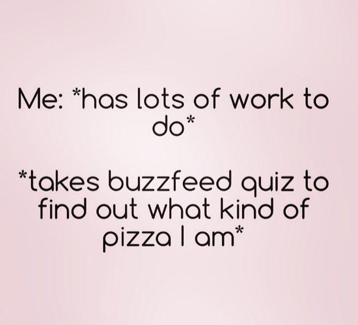 Buzz feed quizzes