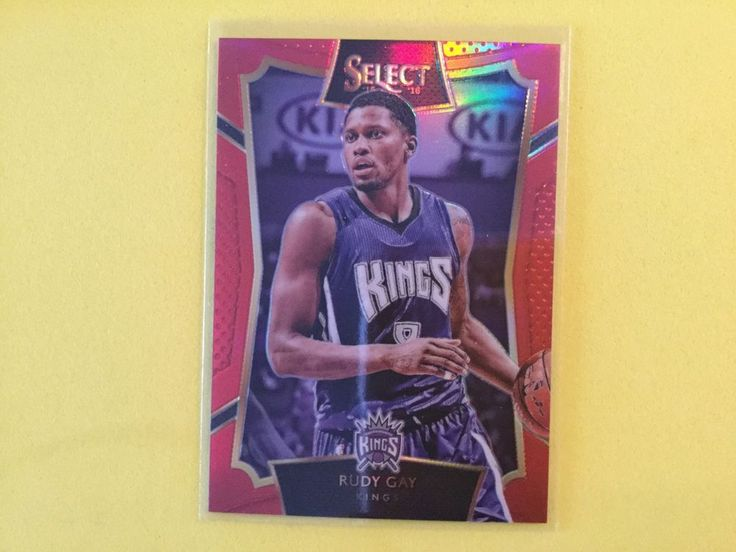 15/16 Panini Select Concourse Parallel Red Prizm 66/149 RUDY GAY…