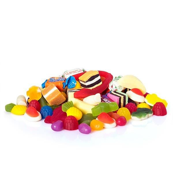 Lolly Mix! As a Half Kilo Mix: http://www.rainbowdesigns.com.au/products/lots-of-lollies or a Kilo Mix: http://www.rainbowdesigns.com.au/products/the-big-lolly-box