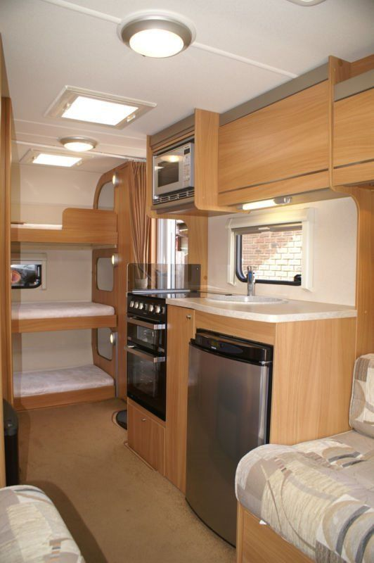The 25 Best Caravan Bunks Ideas On Pinterest Bunkhouse