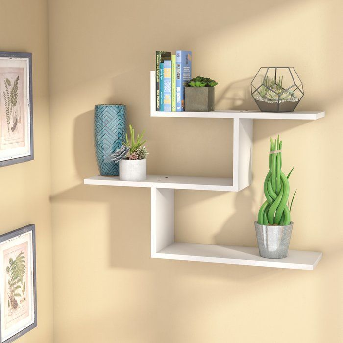 Outstanding 2 Danya B Ff2513W Set Of Reversed Criss Cross White Shelves Download Free Architecture Designs Scobabritishbridgeorg