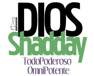 ARTEPARAJESUS: SERIE NOMBRES DE DIOS