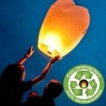 Eco Wish Lanterns | From Wish lantern - the kids would love doing this!
