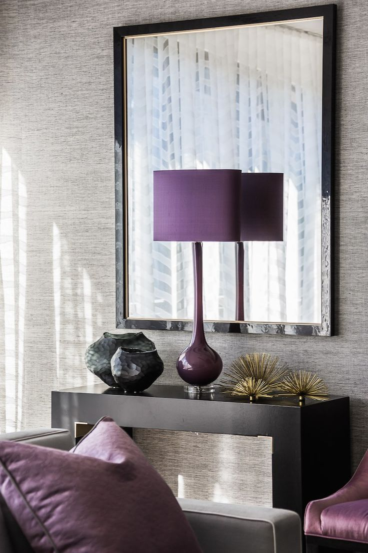 elements of purple living interior design | 119 best images about COLOR: Purple Home Decor on ...