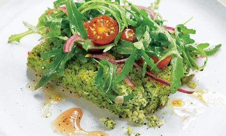 Yotam Ottolenghi's Green polenta