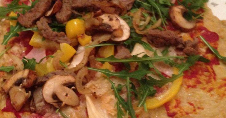 Thunfisch-Pizza - Low carb - super bei der HCG Stoffwechselkur