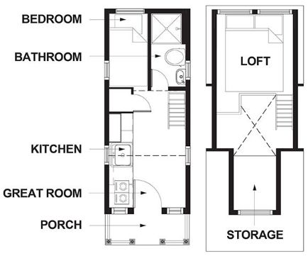 Tiny House Floor Plans Trailer 174 best tiny house plans images on pinterest | tiny house plans