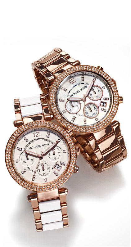 #ShopKick #TreatYourself Nothing like a Michael Khors watch! OMG..love it!