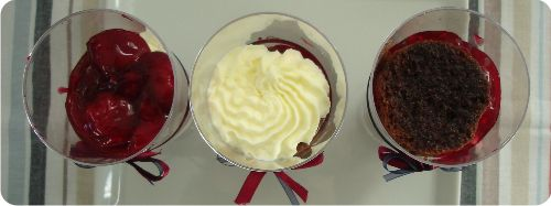 Sugaridoo   Chocolade kersen dessert