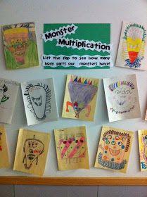 Yay Third Grade!: Multiplication Monster Freebie