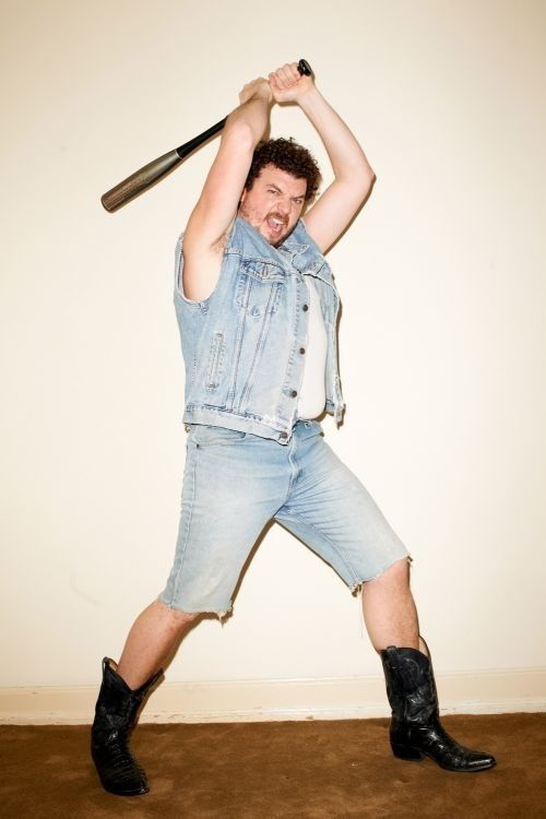 Danny McBride - he is awful and awesome. . He is crazy
