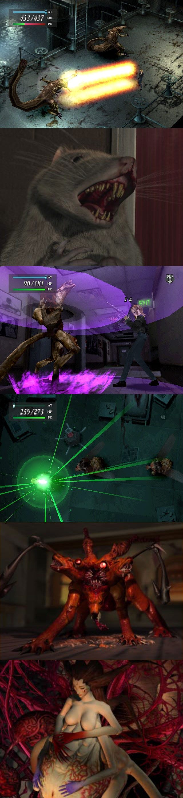 Parasite Eve is such an awesome game! It really is - Jesus Ochoa