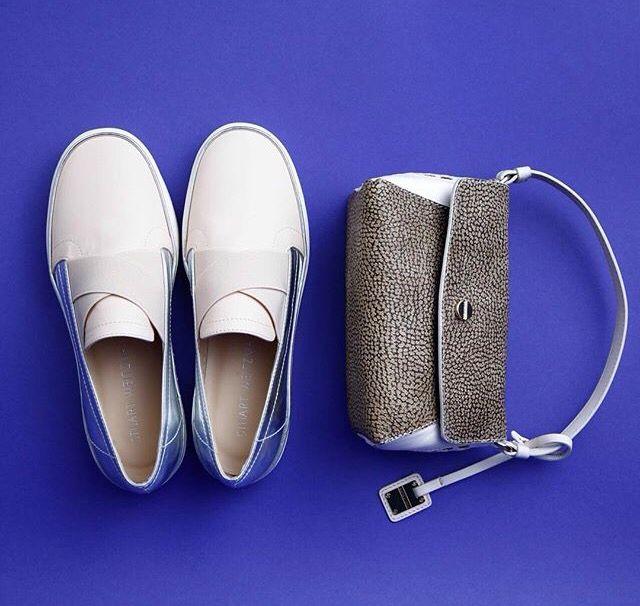 BORBONESE Bag STUART WUEITZMAN Shoes