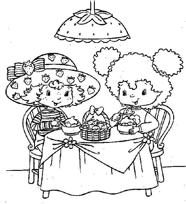 Les 25 meilleures id es concernant coloriage charlotte aux - Charlotte aux fraises dessin ...