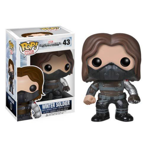 Funko POP Heroes: Captain America Movie 2 - Winter Soldier |