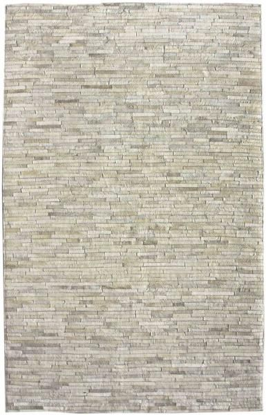 NuLoom SECH02 NuLoom Hand Woven Clarity Patchwork Cowhide Beige Rug. Sophisticated and elegant area rug. Made of patchworks of genuine cowhide. 100% Cow Hide Hand Woven Made in: India