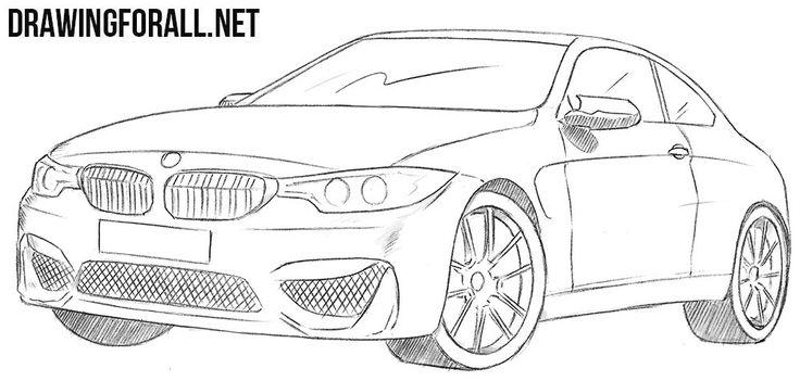 Wie zeichnet man ein BMW M4
