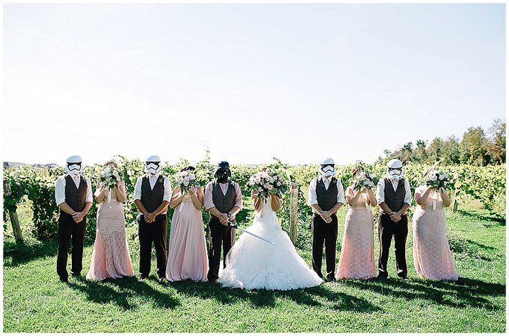 Star Wars Wedding @ Holland Marsh Winery, Newmarket. [Maranda Elysse Photography]