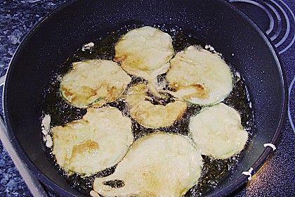 Frittierte Zucchini im Teig 2