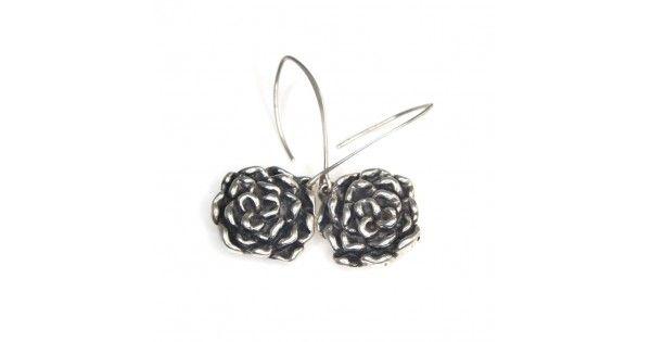 Cercei din argint - flori - Mexic