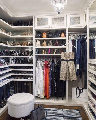 the 23 prettiest walk-in closets on instagram   Closet ...