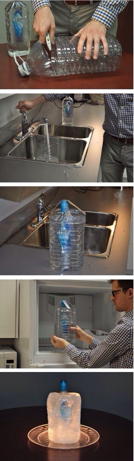 How to keep a bottle cold