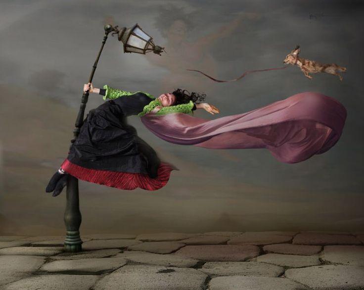 Сильный ветер прикольные картинки