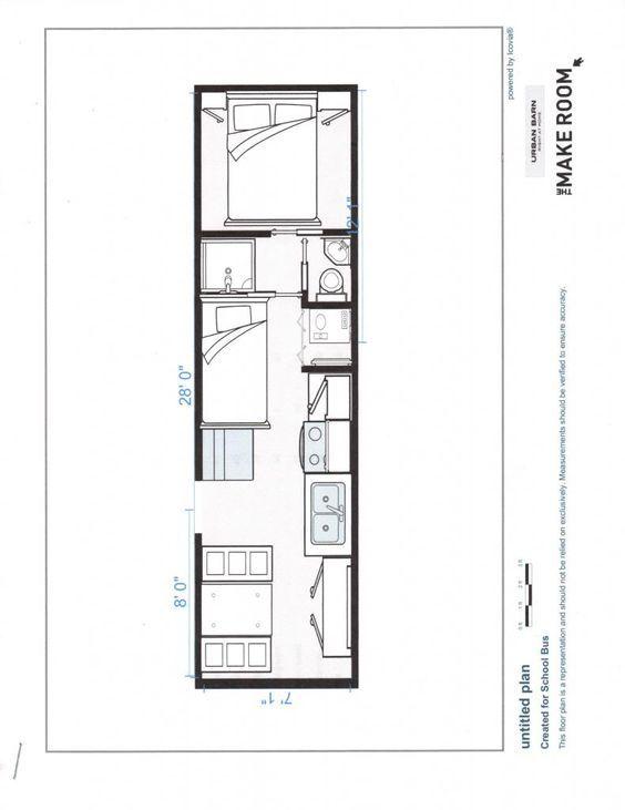 Wonderful Conversion Encyclopedia   Floor Plans   Page 3   School Bus Conversion  Resources