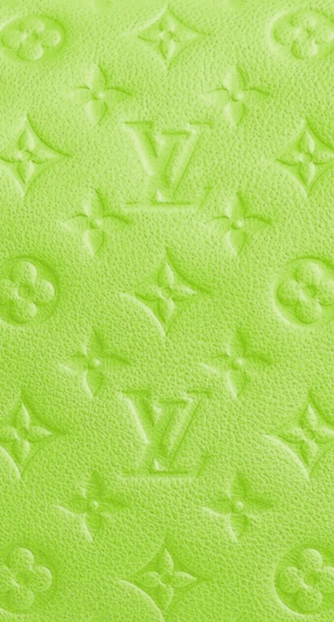 Louis Vuitton Green In 2020 Lime Green Wallpaper Dark Green Aesthetic Green Aesthetic