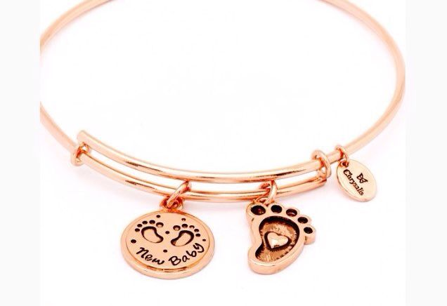 New baby rose gold bangle on offer www.aistikas.com #jewelry #love