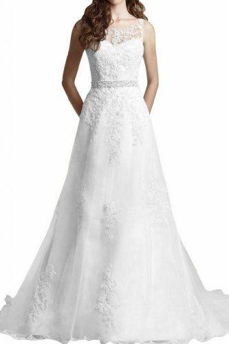 Gorgeous Bride 2013 Neu Traeger A-Linie Lang Spitze Tuell Brautkleider Hochzeitskleider Gorgeous Bride, http://www.amazon.de/dp/B00GE2JHN4/ref=cm_sw_r_pi_dp_g8lOsb1QZW5P9