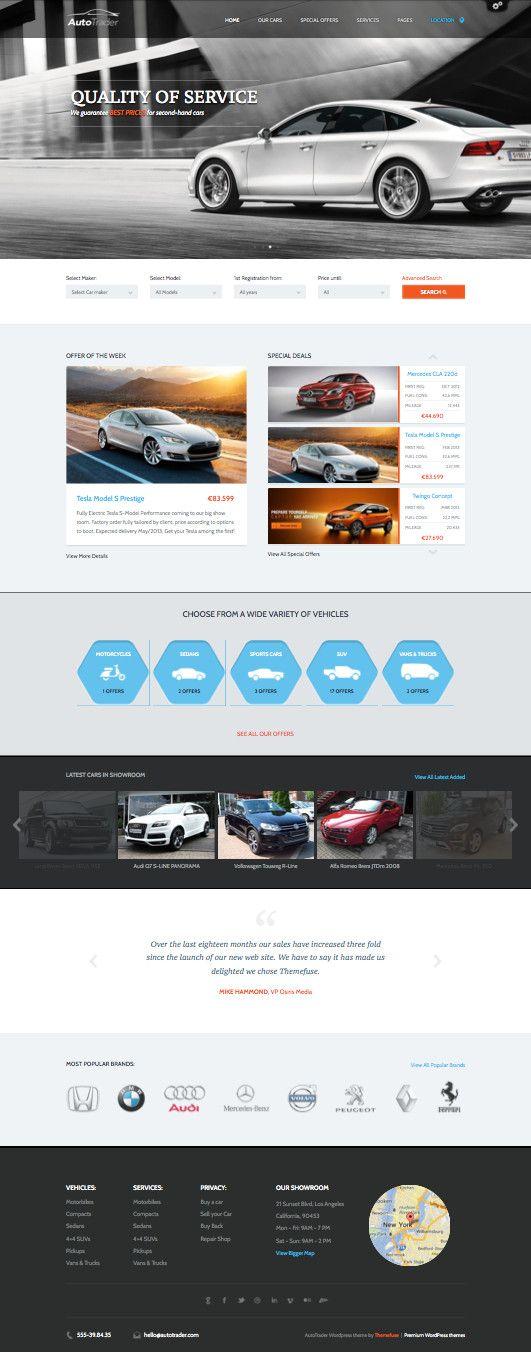 16 Best Images About Car Dealers Web Design On Pinterest