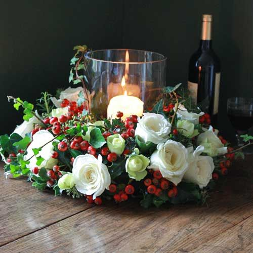 Beautiful Christmas collection from The Real Flower Company   Flowerona