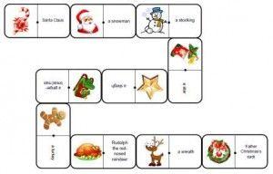 Dominos de Noël anglais                                                                                                                                                                                 Plus