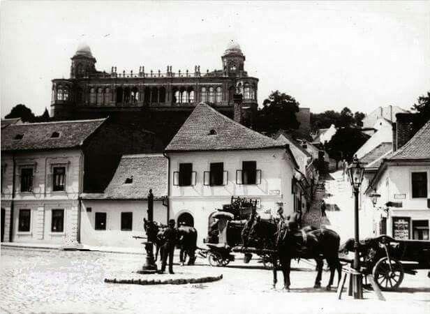 1900 körül. Török utca , Gül Baba utca.