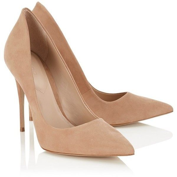 Aldo Pointed Court Heels ($86) ❤ liked on Polyvore featuring shoes, pumps, high heel court shoes, pointed-toe pumps, pointed shoes, pointed toe pumps and pointy toe shoes