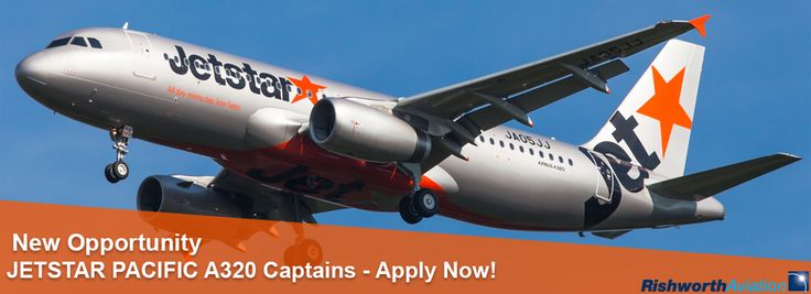 Now accepting applications for qualified A320 Captains to join Jetstar Pacific! http://ow.ly/UWZiY  #RishworthAV #aviation #jobs