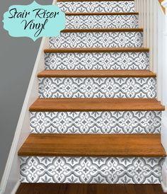 15 Streifen von Stair Riser Vinyl Aufkleber von SnazzyDecal auf Etsy