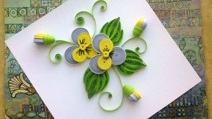 Quilling Paper Flower Tutorial: D.I.Y. Quilling Paper Pansy Flower Tuto...