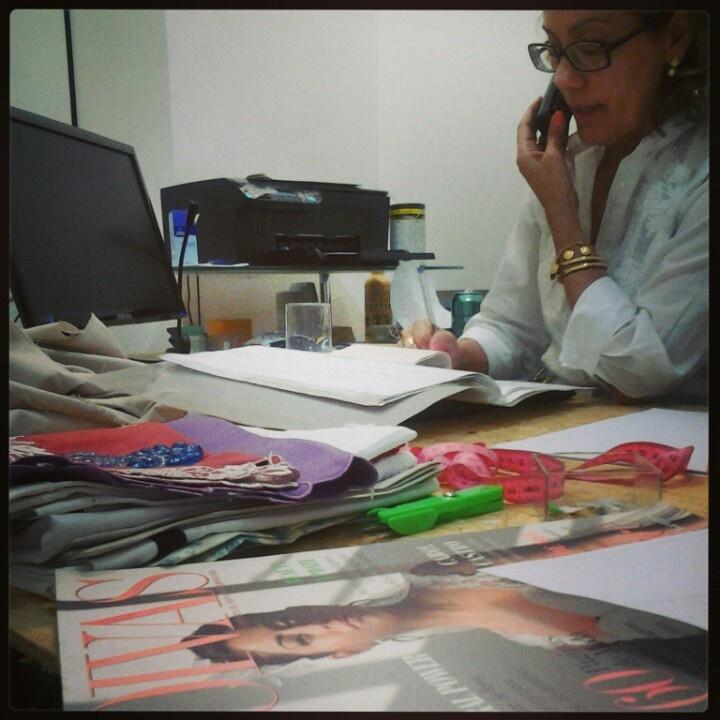 Fashion business woman