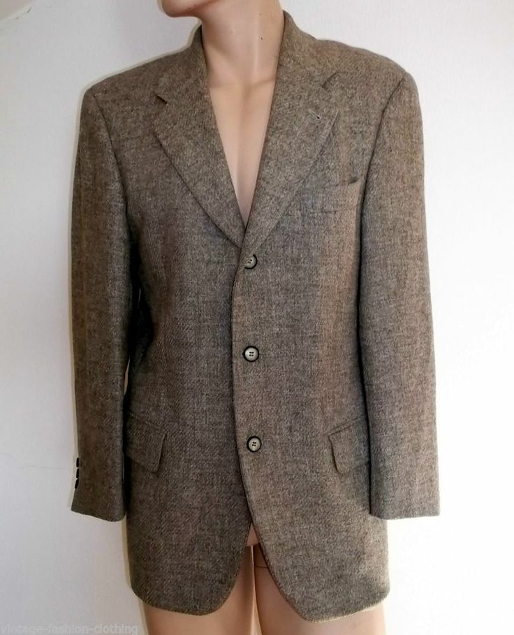 Hugo BOSS Batman Blazer Suit Jacket mens Irish Tweed Size ...