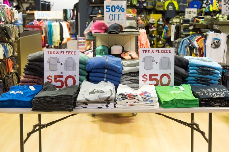 Grab a tee and fleece for just $50 at Quiksilver! https://www.facebook.com/DFOJindaleeQLD?fref=ts