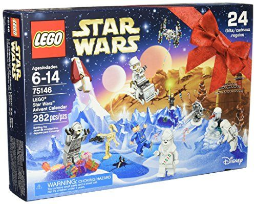 Have fun every day with this festive LEGO Star Wars Advent Calendar! Open up a door each December day to reveal a fun Star Wars gift including characters vehicles starships and more. Unfold the pla...